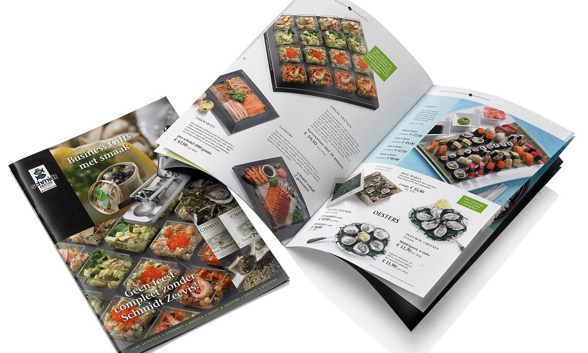 Genieten-brochures