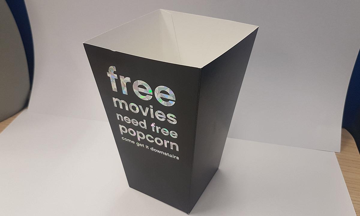 Popcorn-doos